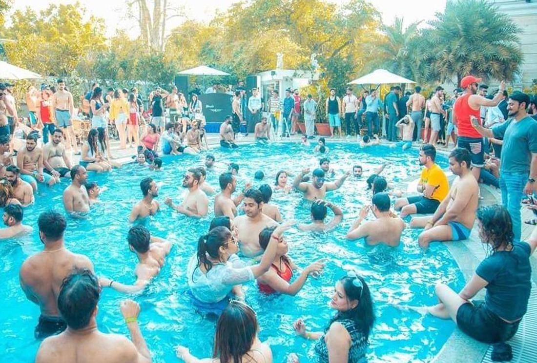 pool party in corbett