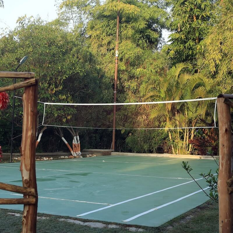 Badminton in corbett