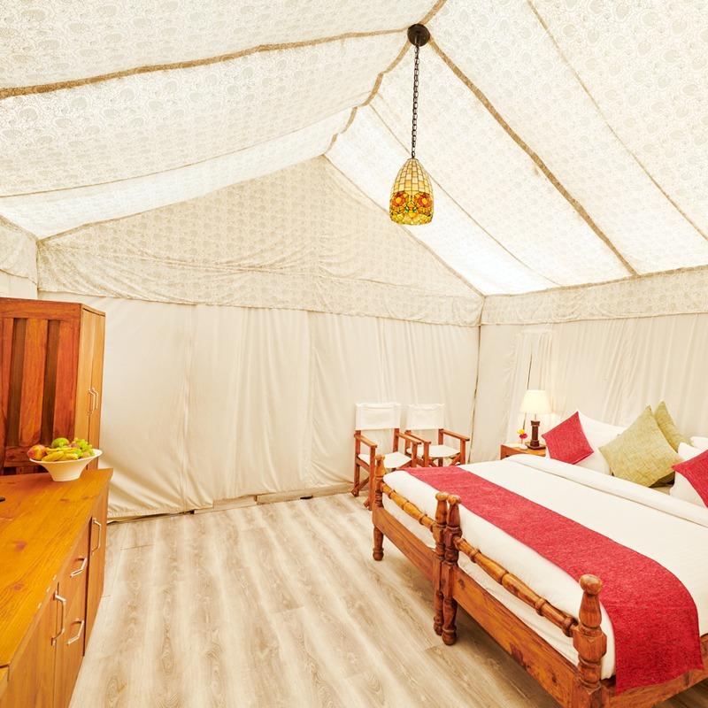 Luxury Tent in jim corbett